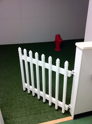 Dulles International Airports indoor pet relief areas Dog Jaunt