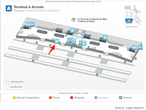 reader s report pet relief area at boston s logan airport