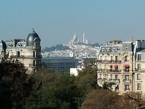 Sacre Coeur from the Buttes Chaumont