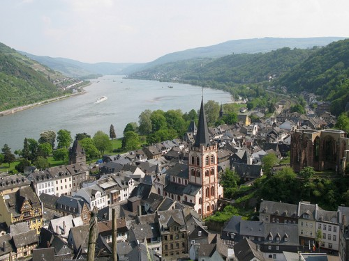 Bacharach is one of the stops on the 4-day Rhine cruise (photo by Rheinland-Pfalz Tourismus)