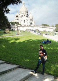 Below Sacre Coeur