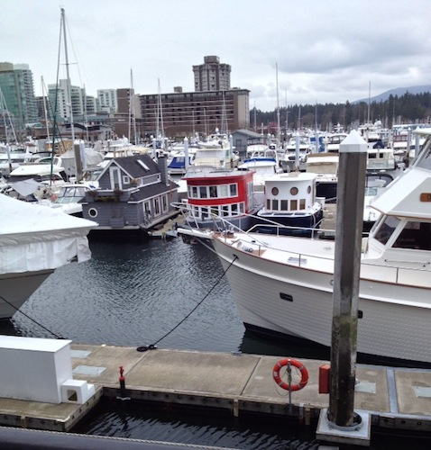 Just around the corner from The LightShed. Now I want to move to Vancouver and live in a tiny converted ferryboat.