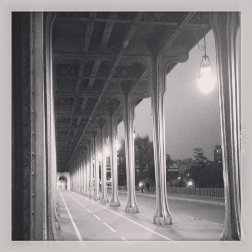 You may remember the Pont de Bir-Hakeim from Inception, and before that from Last Tango in Paris