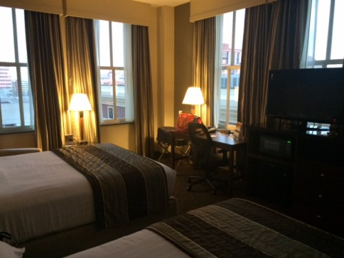 A better view of our New Orleans room